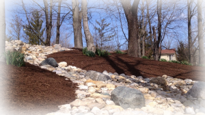 mulch bed shorewalk